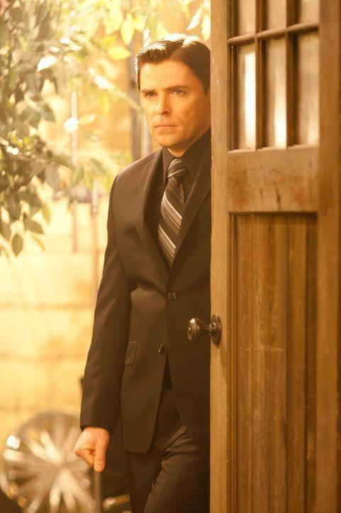 Nach und nach stellt sich heraus, dass Andy (Kavan Smith) Eurekas Sicherheitschef ist, und dass ihm zahlreiche weitere Andys unterstehen. S.A.R.A.H.... - Bildquelle: Universal Television