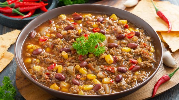 Chili Con Carne à La Frank Rosin