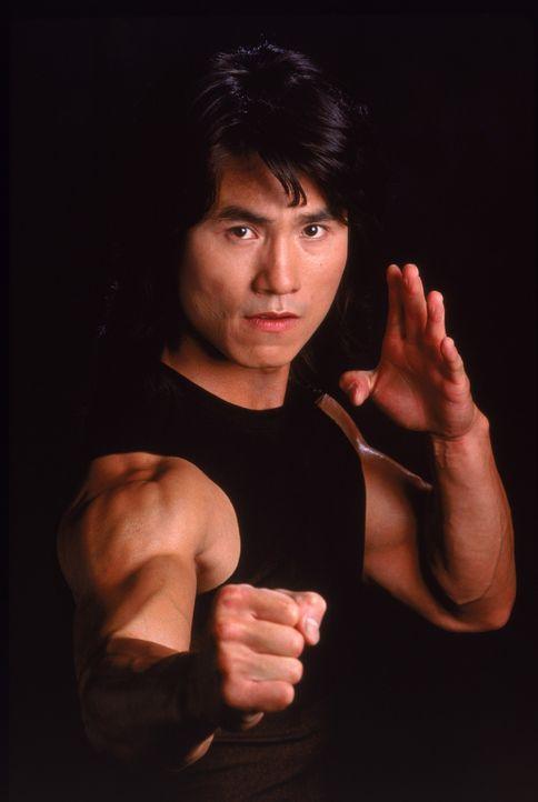 Ganz im Gegensatz zu seinem Halbbruder ist Gobei (Robin Shou) ein echter Ninja-Meister ... - Bildquelle: 1997 TriStar Pictures, Inc. All Rights Reserved.