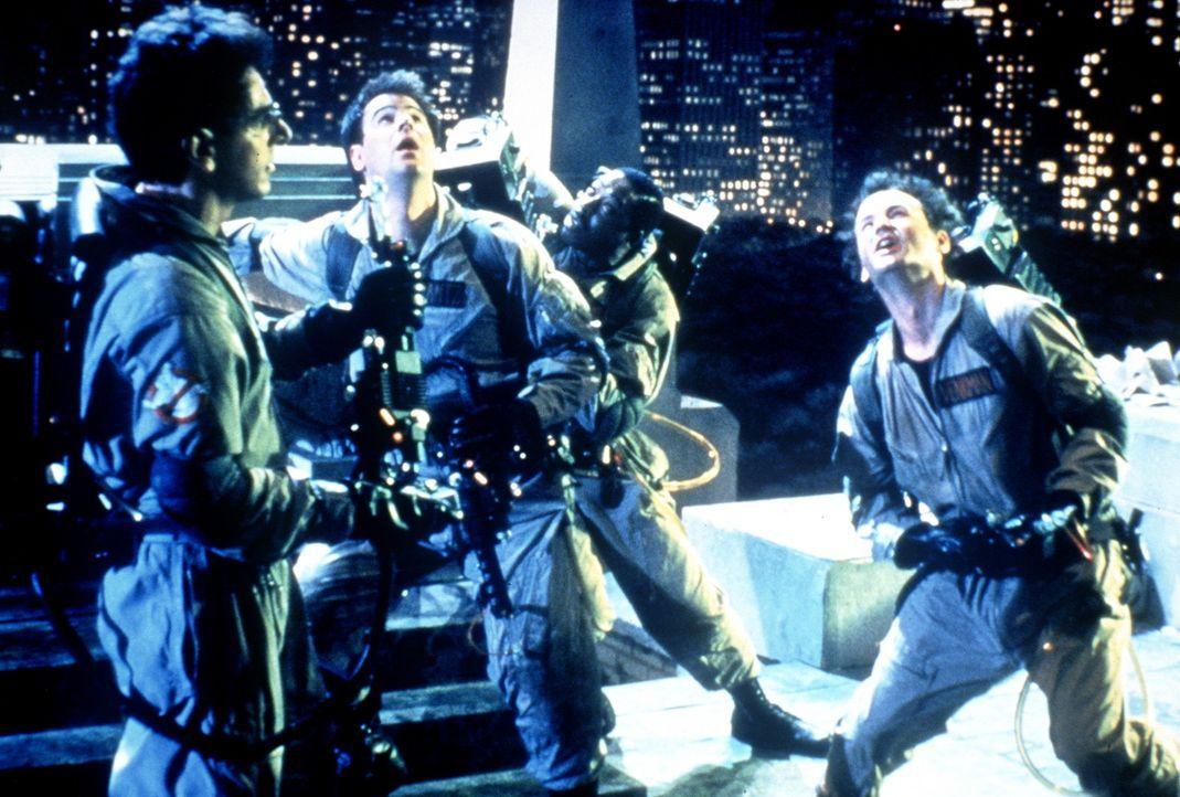 Zuul will sich in einem Hochhaus am Central Park niederlassen, an dessen Spitze sich ein Dimensionstor befindet, durch welches Zuul in diese Welt ge... - Bildquelle: Columbia Pictures