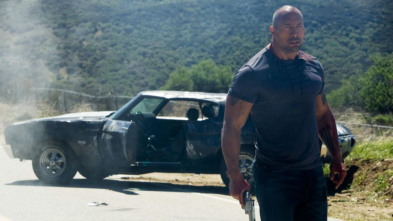 "Dwayne Johnson in ""Faster"" - Bildquelle: Sony Pictures"