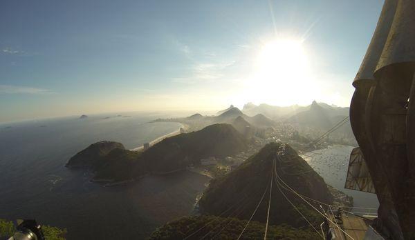 Bergstation des Zuckerhuts auf die Copacabanabuch - Bildquelle: kabel eins