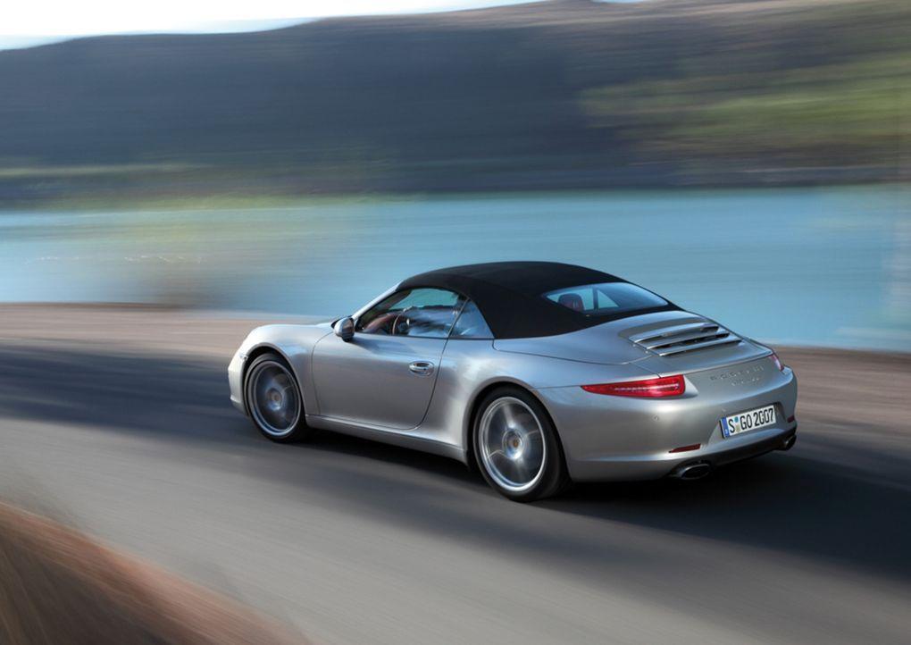 Star der diesjährigen Open-Air-Saison: der neue Porsche 911 Cabrio ... - Bildquelle: Porsche