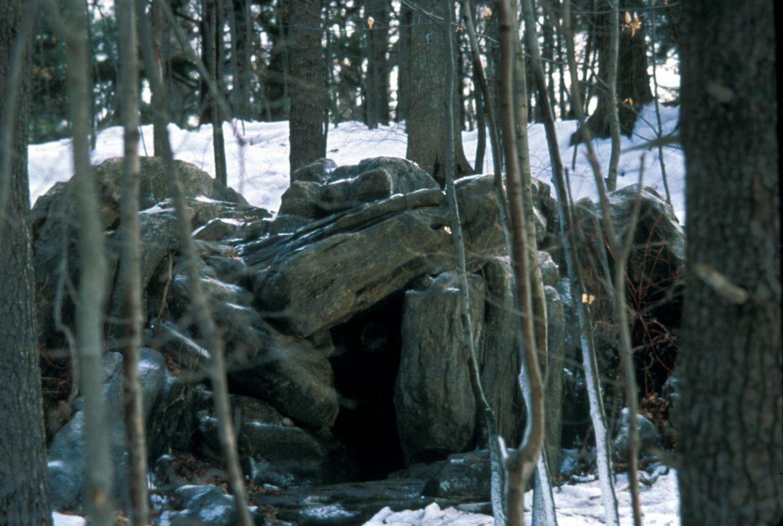 In dieser Höhle lebt der psychisch kranke Obdachlose Romulus ... - Bildquelle: Francise Productions