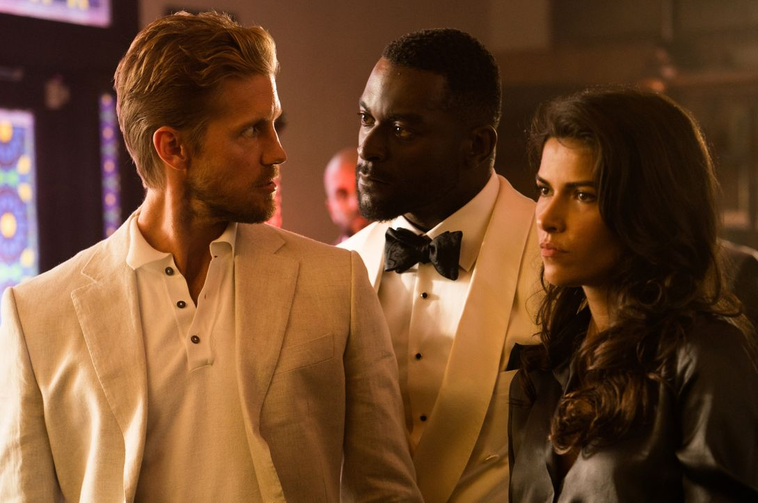 (v.l.n.r.) Danny McNamara (Matt Barr); Aiden Shaw (Michael James Shaw); Lexi Vaziri (Sofia Pernas) - Bildquelle: 2018 CBS Broadcasting, Inc. All Rights Reserved