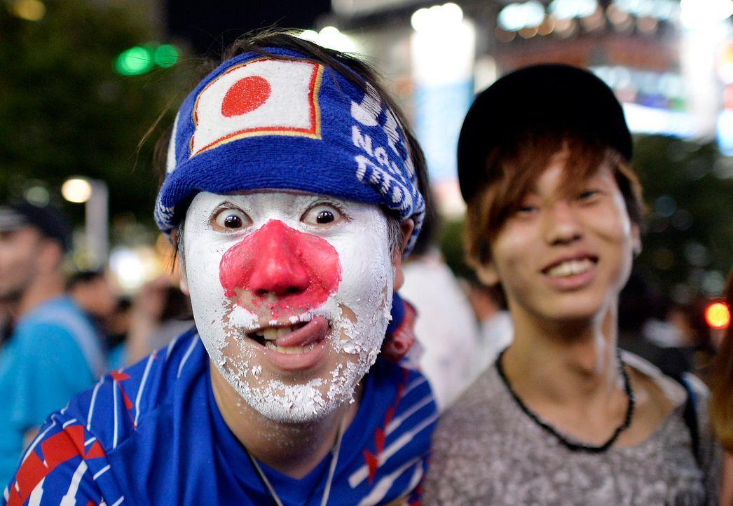 Die japanischen Fans - 2 - Bildquelle: dpa