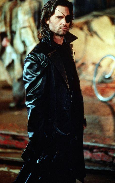 Schwört gnadenlose Rache: Snake Plissken (Kurt Russell) - Bildquelle: Paramount Pictures