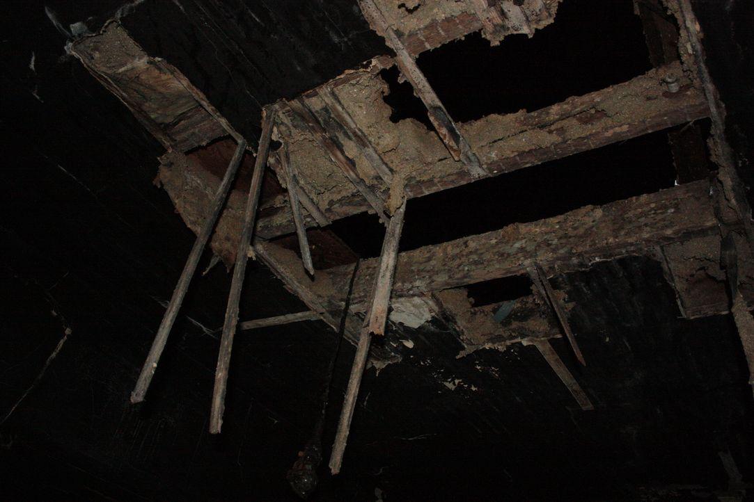 In dem brennenden Familienhaus wird die Leiche der Mutter gefunden. Kann der Zehnjährige bei der Aufklärung des Falls helfen? - Bildquelle: Jupiter Entertainment