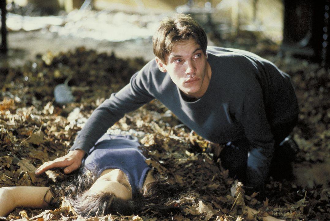 Als der attraktive und draufgängerische Alan (Jonathan Rhys-Meyers, r.) eine leidenschaftliche Affäre mit Davids Freundin Jenny (Rachael Leigh Coo... - Bildquelle: Highlight Film