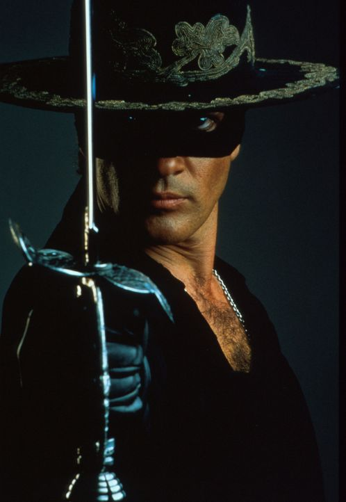 Kämpft mit Charme und List: El Zorro (Antonio Banderas) - Bildquelle: Columbia Pictures