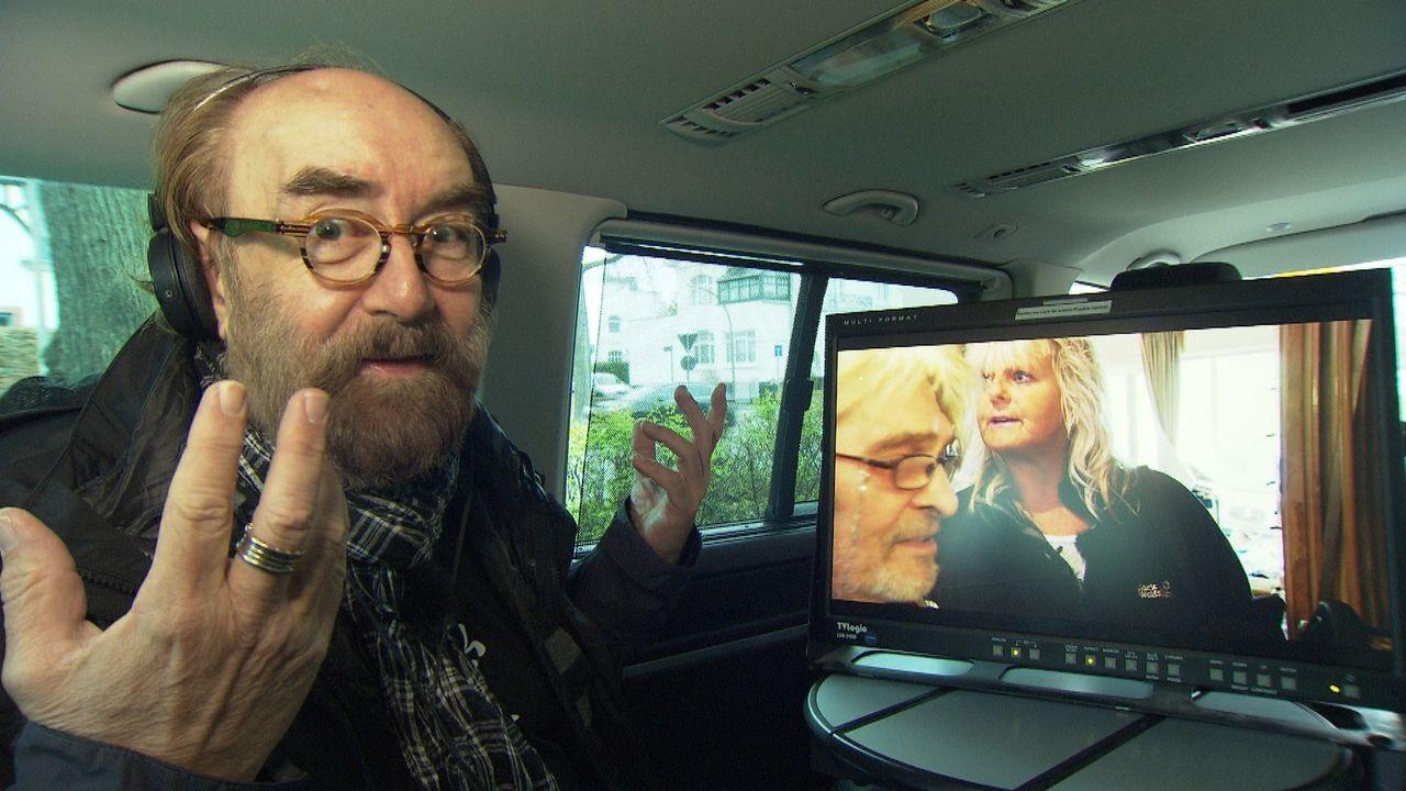 Psychologe Michael Thiel beobachtet das Zusammentreffen von der putzwütigen Doris und dem Messie Norbert ... - Bildquelle: kabel eins