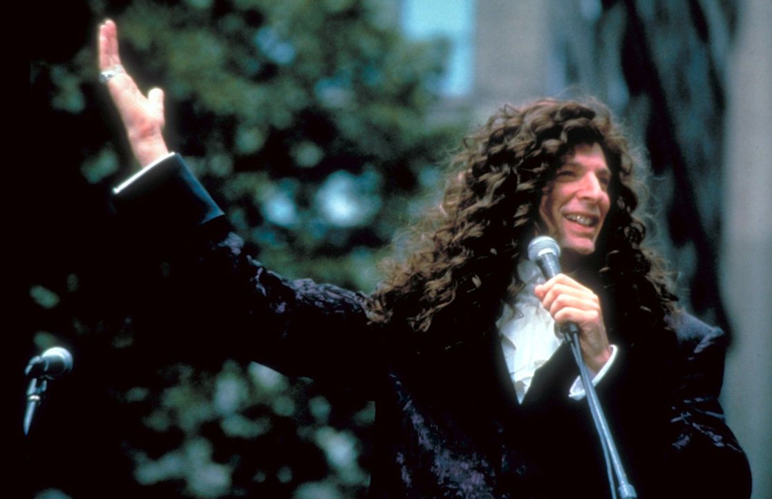 Er enttäuscht seine Fans nie: Der einfallsreiche Howard Stern (Foto) schockiert sein Millionenpublikum immer wieder aufs Neue ...