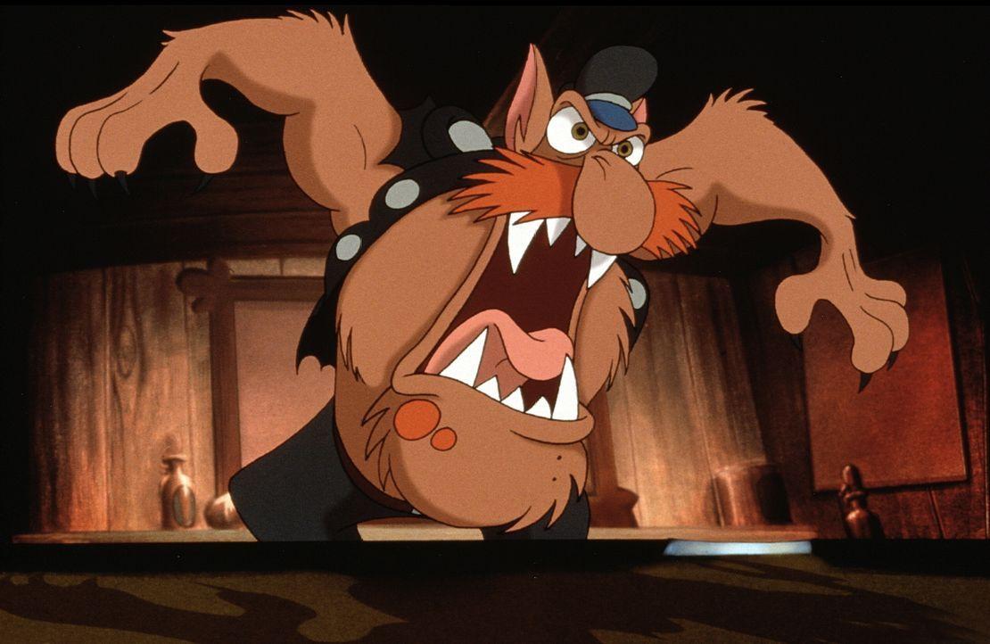Wehe, wenn er losgelassen: In der Wut wird Präsi zum Werwolf ... - Bildquelle: Constantin Film