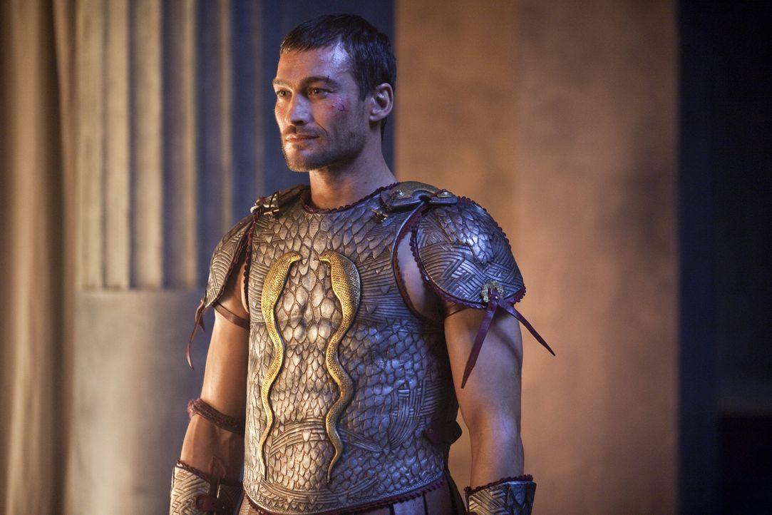 Der neue unbezwingbare Held: Spartacus (Andy Whitfield) ... - Bildquelle: 2010 Starz Entertainment, LLC