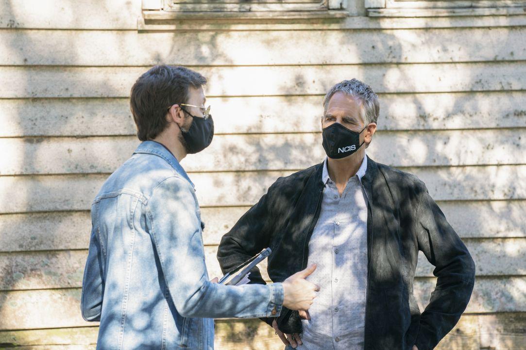 Sebastian Lund (Rob Kerkovich, l.); Dwayne Pride (Scott Bakula, r.) - Bildquelle: Sam Lothridge 2020 CBS Broadcasting Inc. All Rights Reserved. / Sam Lothridge