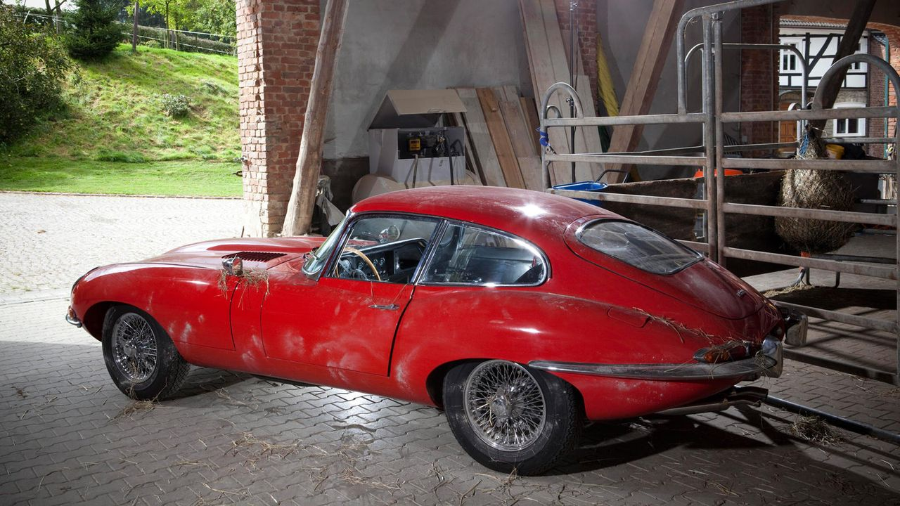 Mission Impossible: Restauration eines Jaguar E-Type von 1966 - Bildquelle: kabel eins