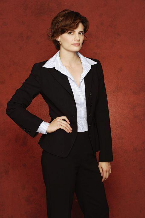 (1. Staffel) - Kate Beckett (Stana Katic) ist eine hartnäckige, clevere Detektivin der Mordkommission des New York Police Department. - Bildquelle: ABC Studios