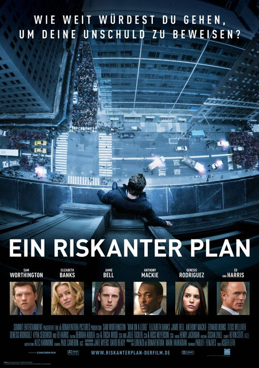 Ein riskanter Plan - Plakatmotiv - Bildquelle: 2011 Concorde Filmverleih GmbH
