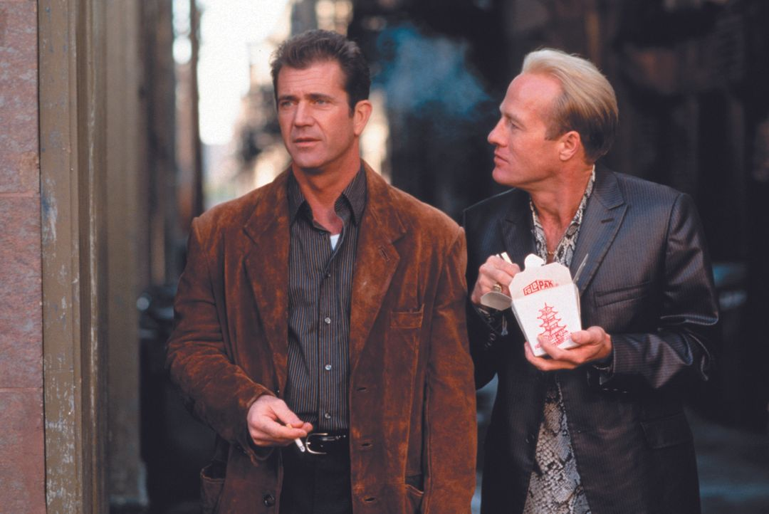 Eigentlich waren Porter (Mel Gibson, l.) und Val (Gregg Henry, r.) einmal richtig gute Gangster-Partner, doch dann schließen sich Val und Porters Fr... - Bildquelle: Warner Bros.