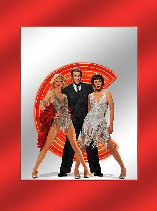 Chicago mit (v.l.n.r.) Renee Zellweger, Richard Gere und Catherine Zeta-Jones - Bildquelle: Miramax Films
