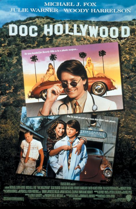 """Doc Hollywood"" - Filmplakat - Bildquelle: Warner Bros."