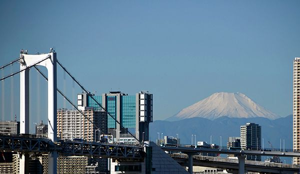 Fuji - Bildquelle: dpa