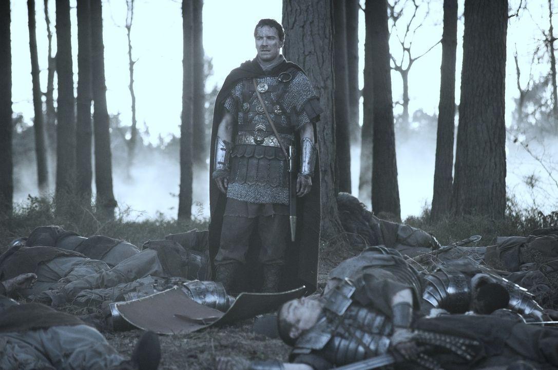 Die gesamte 9. Legion wurde in einen Hinterhalt gelockt. Nur Quintus Dias (Michael Fassbender) und sechs weitere Kämpfer haben das Massaker überle...