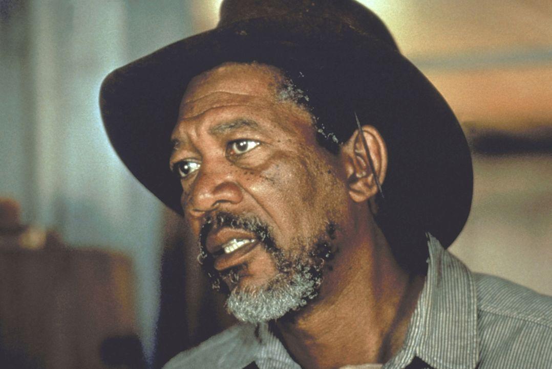 Ned Logan (Morgan Freeman) wird von seinem alten Partner um Hilfe gebeten ... - Bildquelle: Warner Bros.