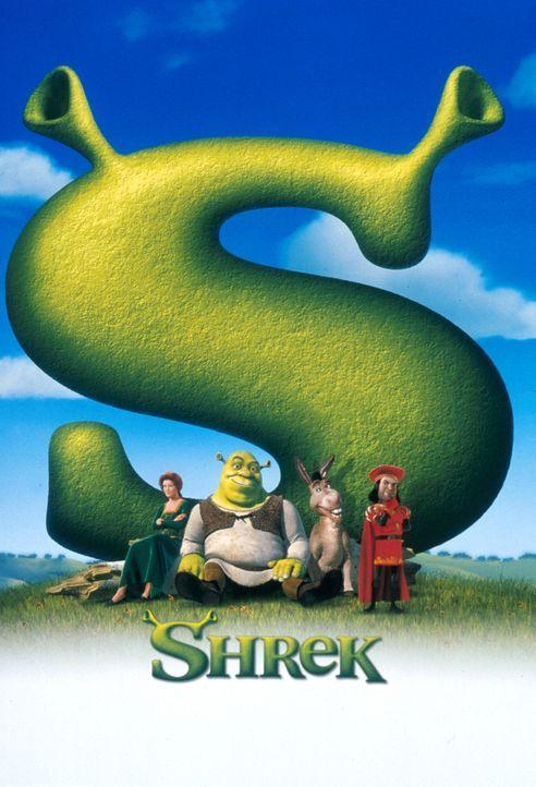Märchenhaftes Abenteuer: Shrek (2.v.l.) und der sprechende Esel (2.v.r.) sollen im Auftrag des eingebildeten Lord Farquaad (r.) die hübsche Prinzess... - Bildquelle: TM &   2001 DreamWorks L.L.C.