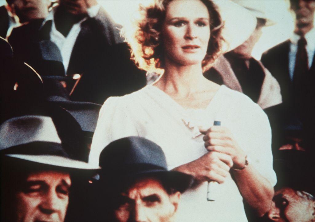 Iris Gaines (Glenn Close), die alte Jugendliebe des Baseballspielers Roy Hobbs, unterstützt ihn mit aller Kraft bei seinem Neuanfang ... - Bildquelle: TriStar Pictures