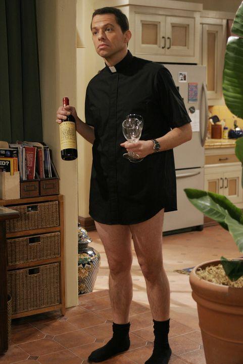 Alan (Jon Cryer) nimmt die Herausforderung an, sich um Kandi zu kümmern ... - Bildquelle: Warner Brothers Entertainment Inc.