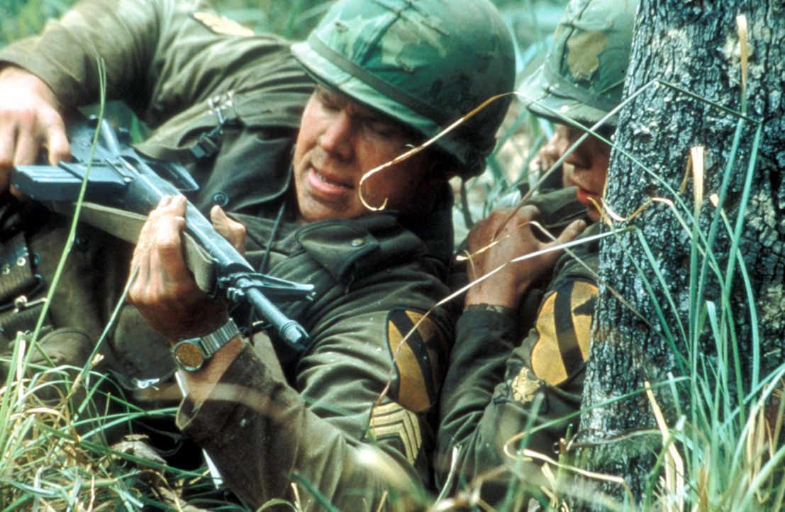 Der Feind bleibt gesichtslos, aber fügt den Amerikanern große Verluste zu ... - Bildquelle: Paramount Pictures
