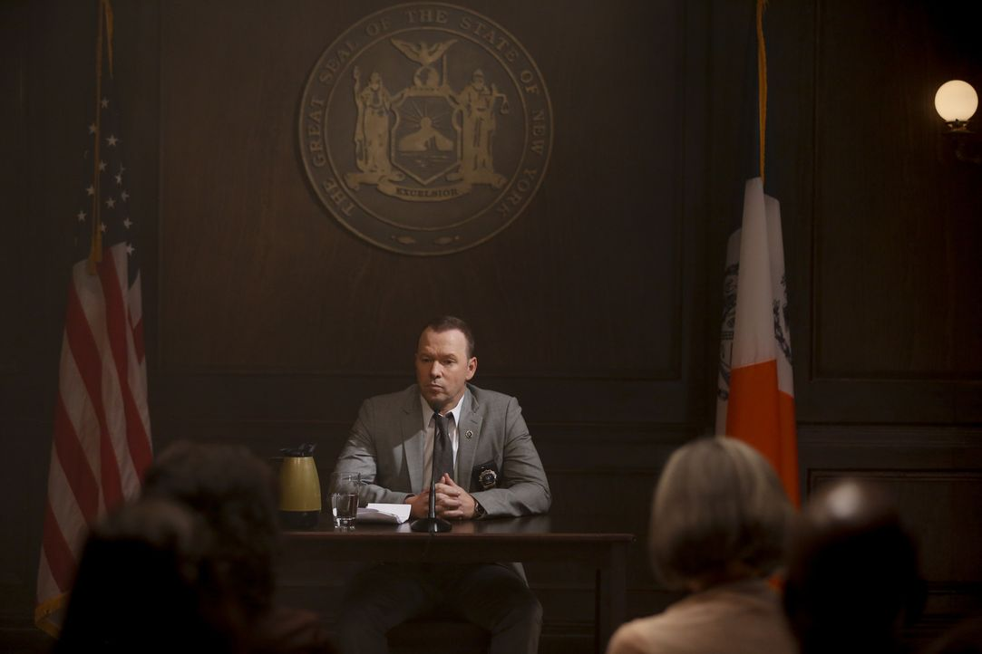Als Danny (Donnie Wahlberg) Serienkiller Wilder damals erschoss, wurde er auf Grund von Selbstverteidigung freigesprochen. Doch jetzt tauchen plötzl... - Bildquelle: Craig Blankenhorn 2016 CBS Broadcasting Inc. All Rights Reserved