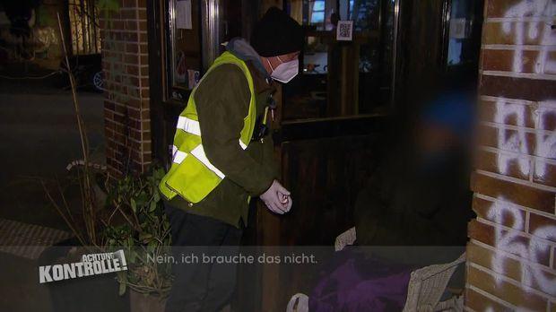 Achtung Kontrolle - Achtung Kontrolle! - Thema U.a.: Versorgung Obdachloser - Kältebus Hamburg Im Einsatz
