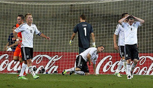 Die deutsche U21 enttäuscht in Israel - Bildquelle: dpa