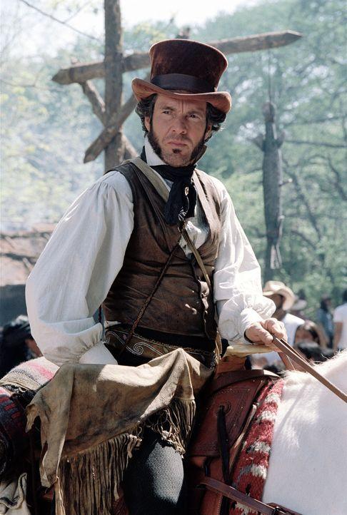 General Sam Houstons (Dennis Quaid) Armee und die Streitkräfte der mexikanisch-texanischen Truppen sehen sich einer blutigen Schlacht gegenüber, die... - Bildquelle: Disney - ABC International Television