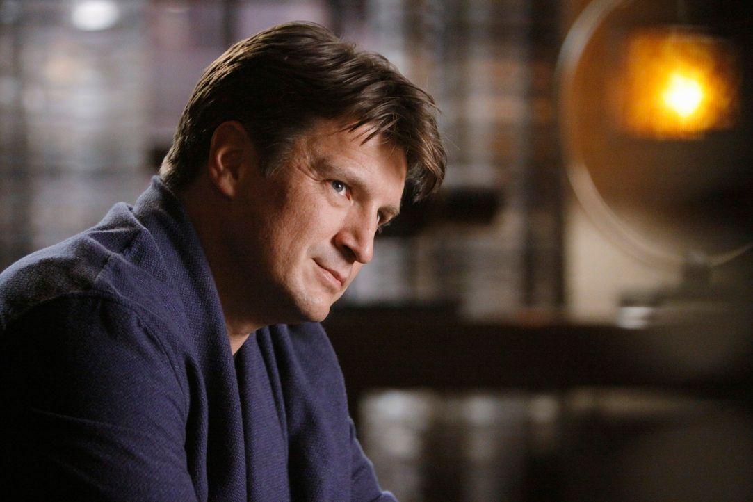 Als Castle (Nathan Fillion) einen alten Schulfreund wieder trifft, der angeblich seine Frau ermordet hat, will er dessen Unschuld beweisen und stürz... - Bildquelle: ABC Studios