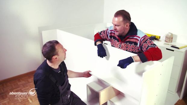 Abenteuer Leben - Abenteuer Leben - Sonntag: Auch In Der Kleinste Hütte Ist Platz! - Kenny Baut Platzsparmöbel