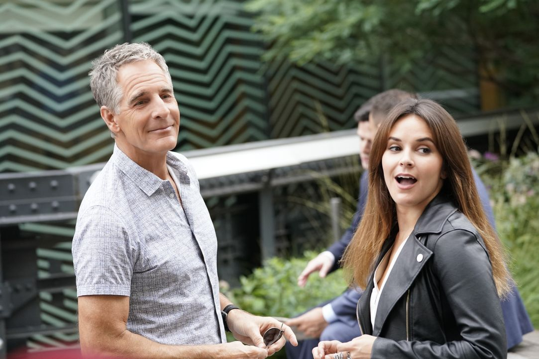 Dwayne Pride (Scott Bakula, l.); Tammy Gregorio (Vanessa Ferlito, r.) - Bildquelle: John Paul Filo 2019 CBS Broadcasting Inc. All Rights Reserved. / John Paul Filo