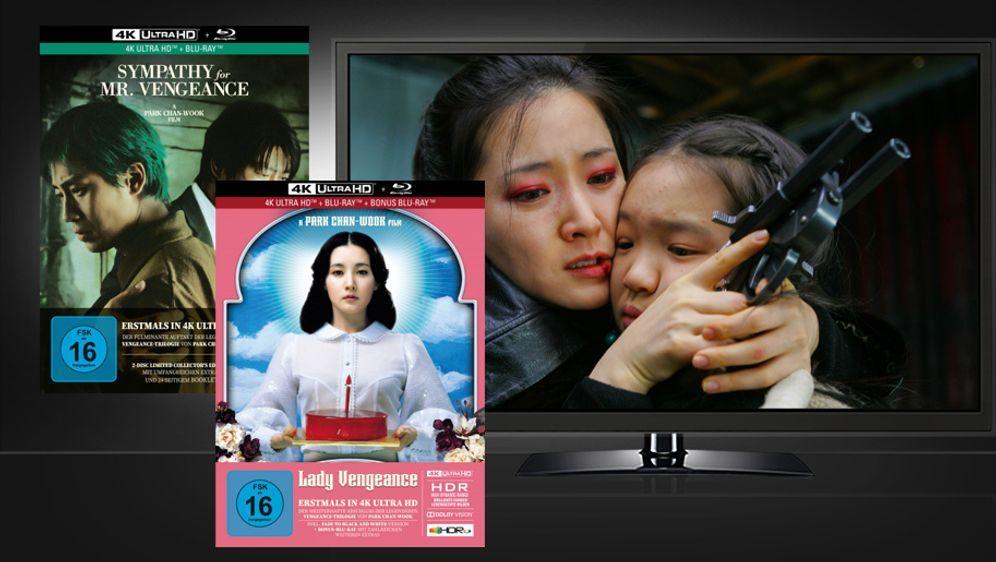 Sympathy for Mr. Vengeance / Lady Vengeance (Mediabooks, UHD + Blu-ray) - Bildquelle: Capelight Pictures
