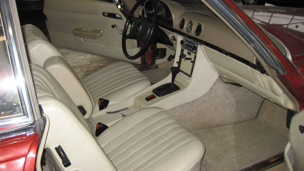 1973-er Mercedes 350 SL, 3,5 Liter V8 mit 200 PS
