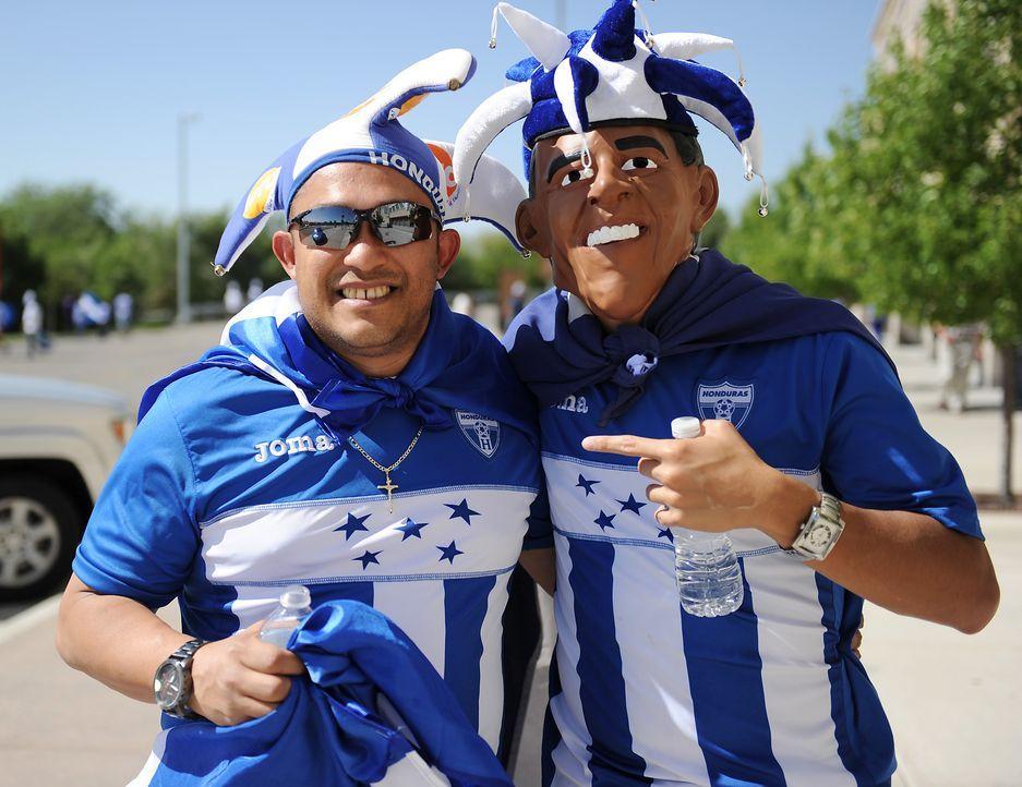 Honduras Fußball-Fans - Bildquelle: AFP