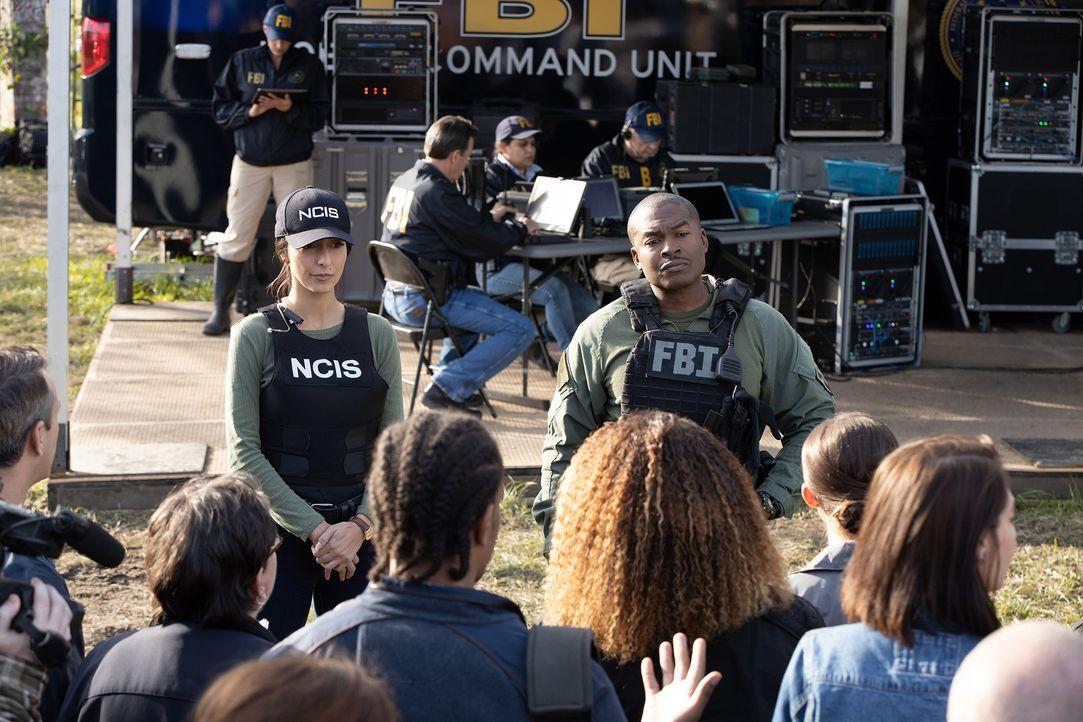 Special Agent Hannah Khoury (Necar Zadegan, l.) - Bildquelle: Sam Lothridge 2019 CBS Broadcasting Inc. All Rights Reserved. / Sam Lothridge