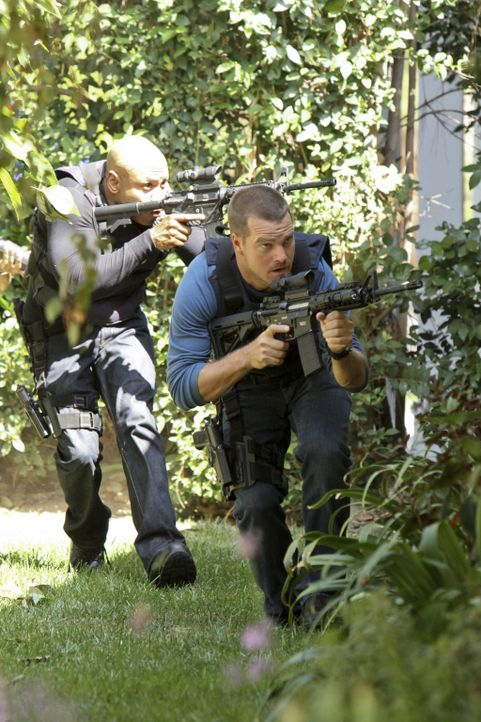 Das Team von NCIS: L.A. führt seine Ermittlungen zum Tod eines CIA-Agenten fort und stößt dabei auf einen gefährlichen Kreis russischer Superspione:... - Bildquelle: CBS Studios Inc. All Rights Reserved.