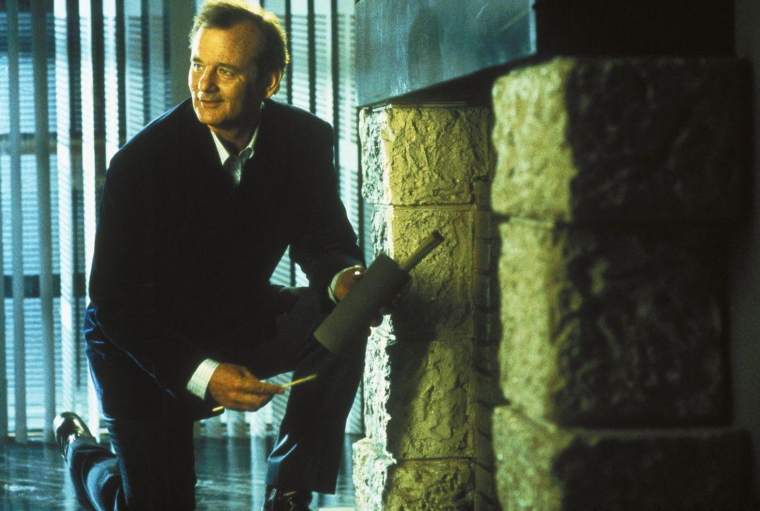 """Charlies """"vierter Engel"""" Bosley (Bill Murray) scheitert häufig schon an den einfachsten Dingen des (Agenten-)Lebens ... - Bildquelle: Columbia Pictures"""