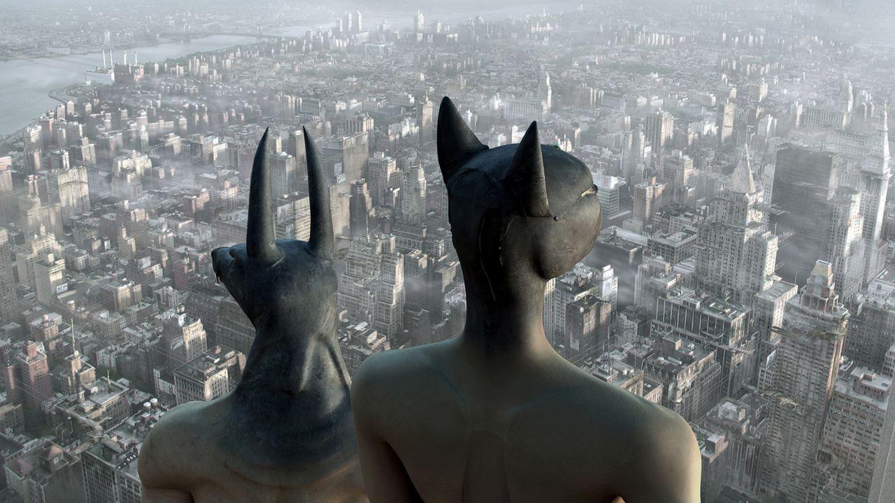 Eines Tages beschließen die Götter im Pantheon, dass Horus seine Unsterblichkeit verlieren soll. Da bleibt dem armen Gott nichts anderes übrig, als... - Bildquelle: TF1 Films Productions