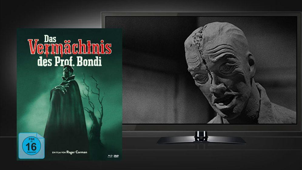 Das Vermächtnis des Prof. Bondi (Mediabook Blu-ray+DVD)