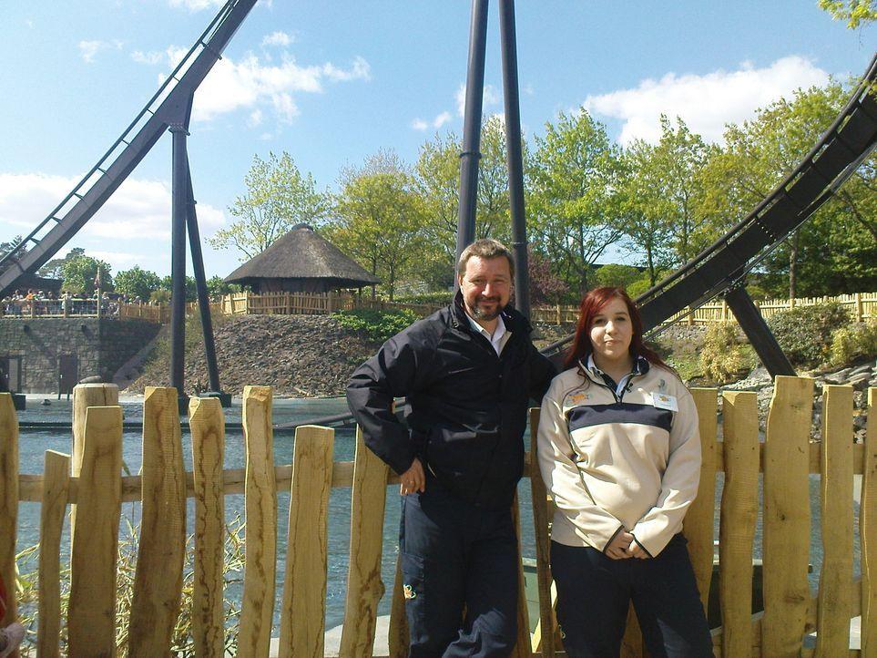 Abenteuer Leben testet die neusten Achterbahnen und Attraktionen im Heidepark Soltau und zeigt spannende Hintergrundgeschichten - vom Technikchef bi... - Bildquelle: kabel eins
