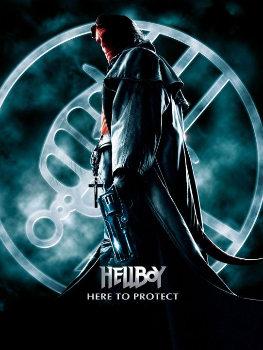 Hellboy - Plakatmotiv - Bildquelle: Sony Pictures Television International. All Rights Reserved.