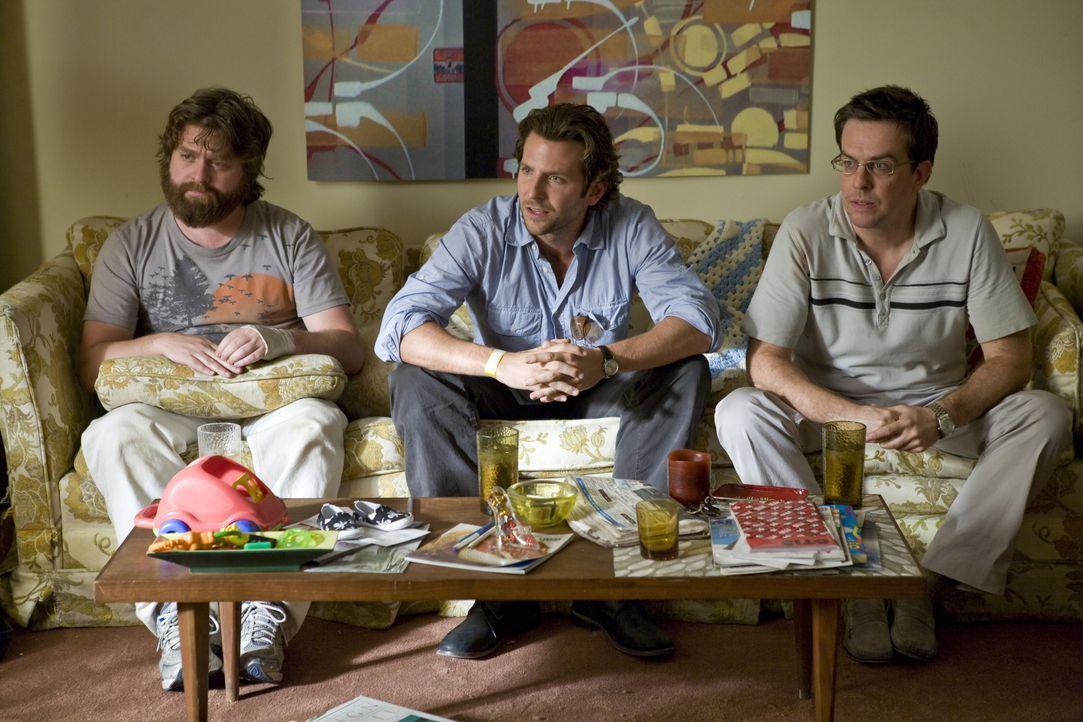 Zum Junggesellenabschied fahren Doug, der Bräutigam in spe, und seine drei Freunde nach Las Vegas und quartieren sich im Caesar's Palace ein. Am näc... - Bildquelle: Warner Brothers